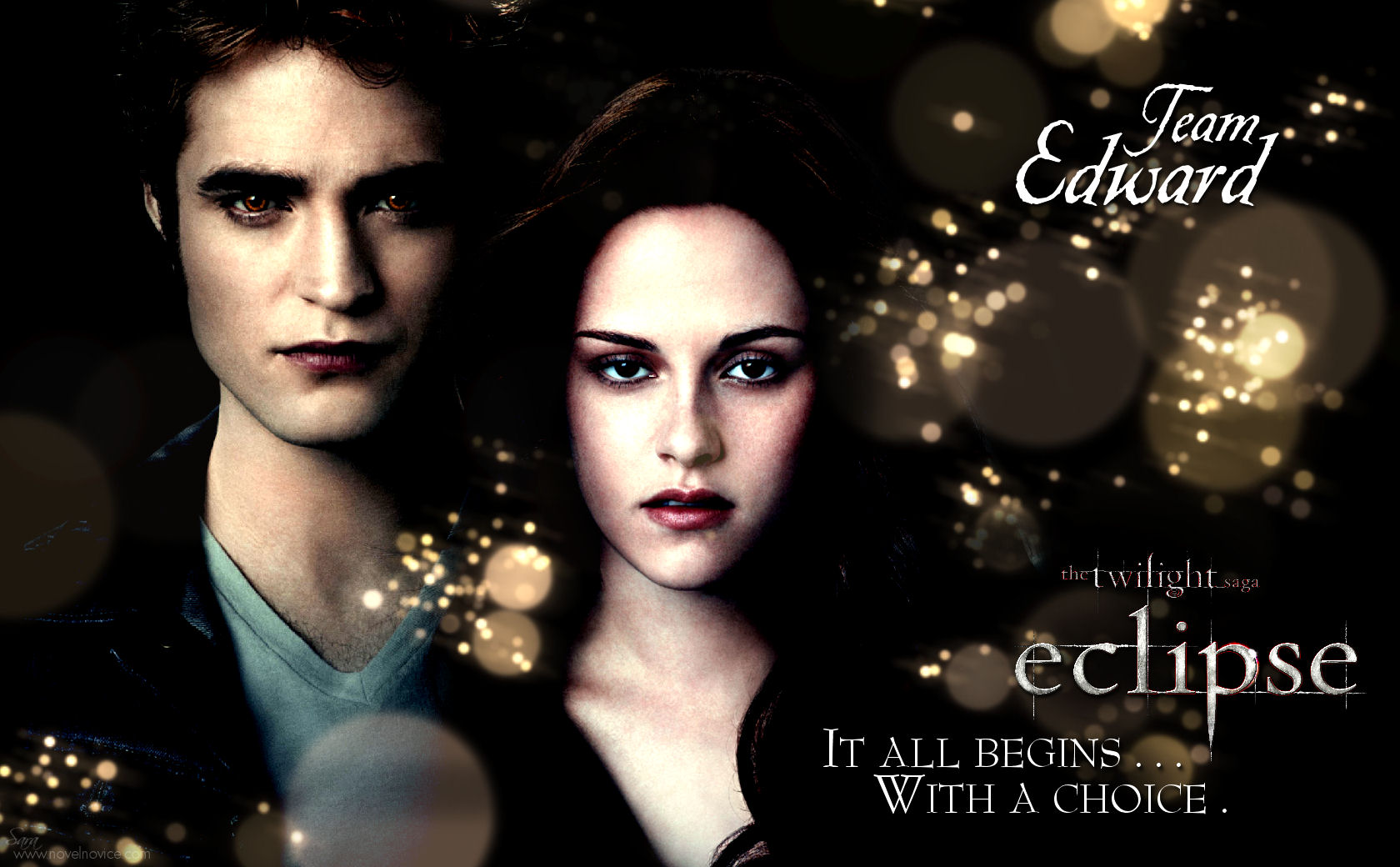 eclipse poster wallpaper team edward3 New Eclipse Wallpapers