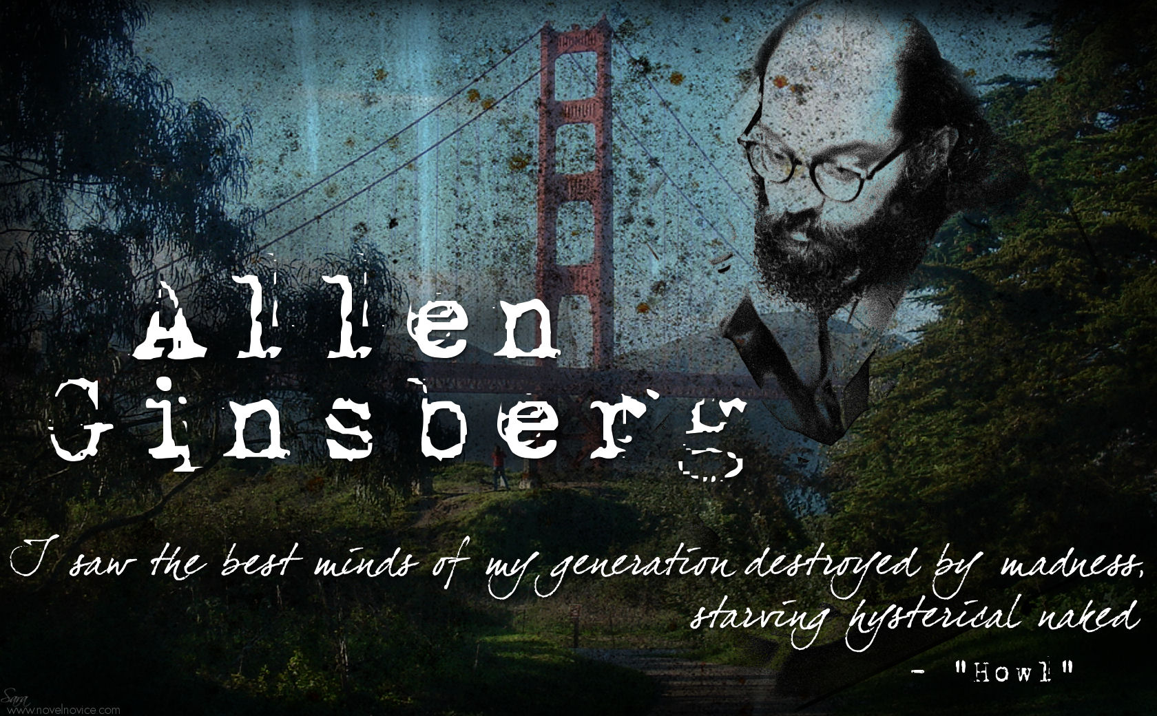 allen ginsberg howl and the literature This first full critical and historical study of howl brilliantly elucidates the nexus of politics and literature in which  american scream: allen ginsberg's howl.