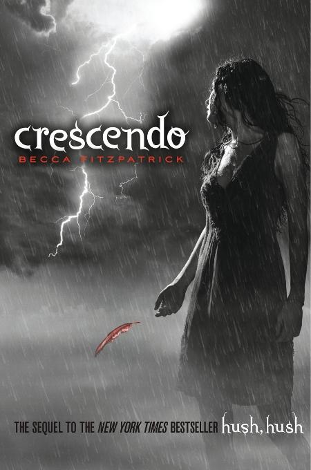 Book Cover Portadas Reviews : Crescendo by becca fitzpatrick novel novice