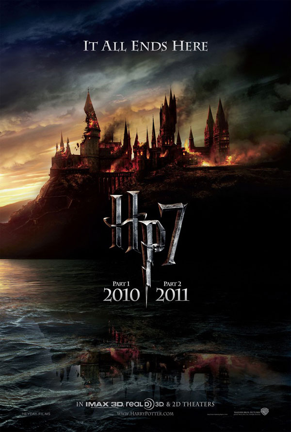 "harry potter 7 poster it all ends here. Harry Potter 7 poster: ""It All"