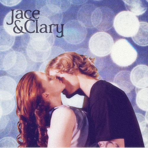 turn back to Jace  amp Clary   Jace And Clary Kiss Movie