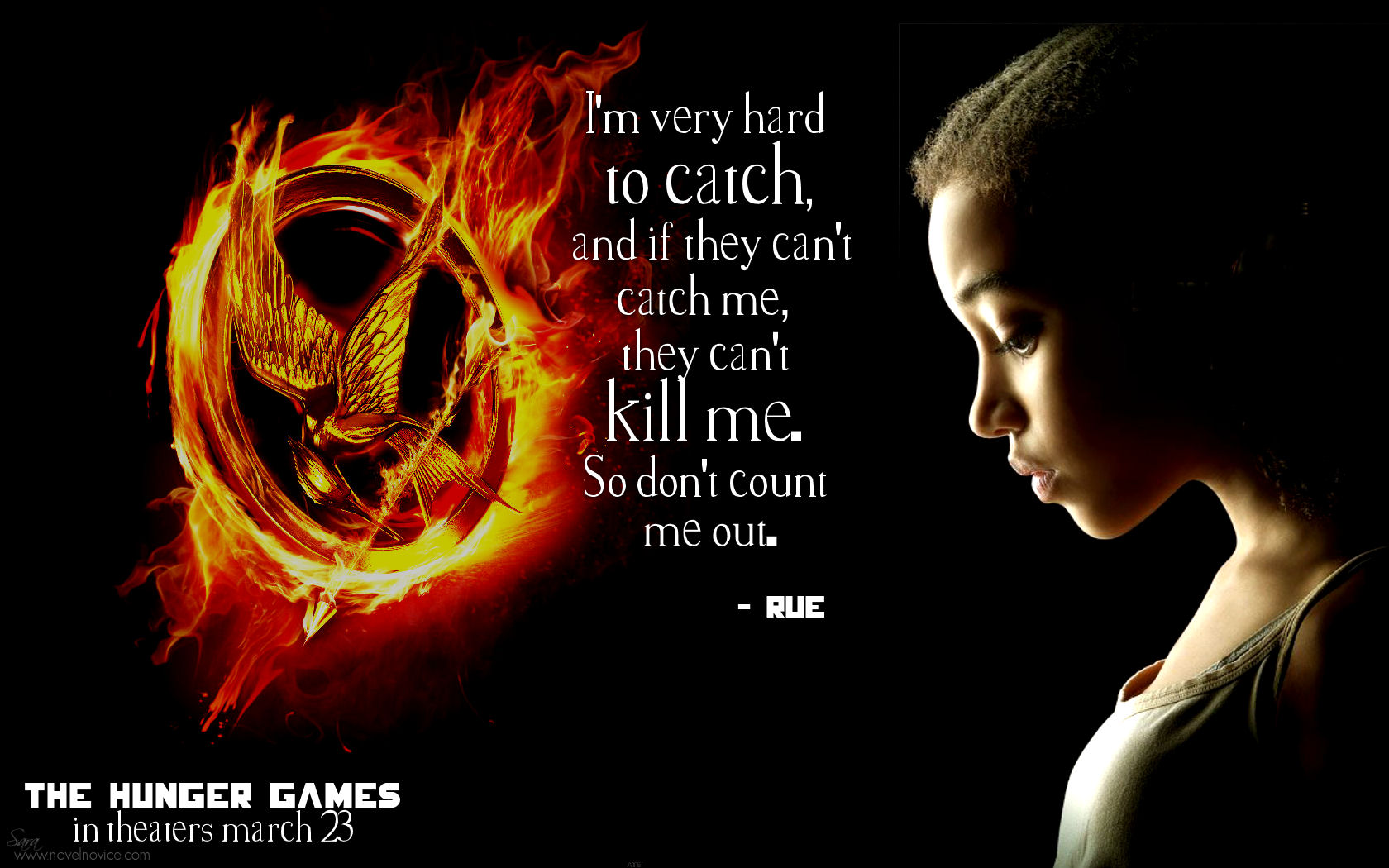 The Hunger Games Movie: Character Desktop Wallpapers