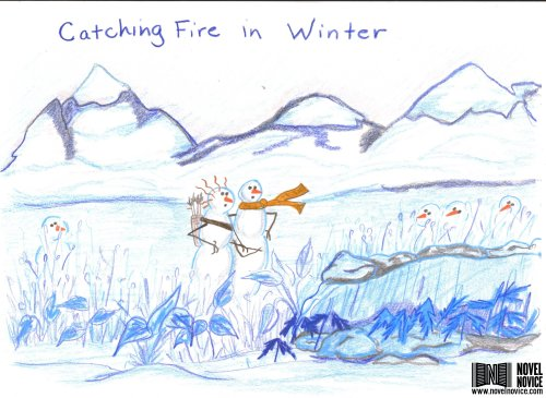 catching fire snowmen