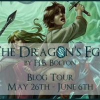 Blog Tour: Excerpt from The Dragon's Egg by H.B. Bolton + Int'l Giveaway