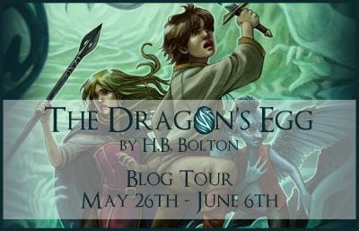 dragon's egg blog tour