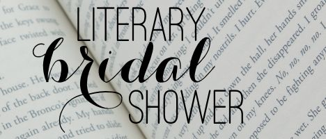 literary bridal shower banner