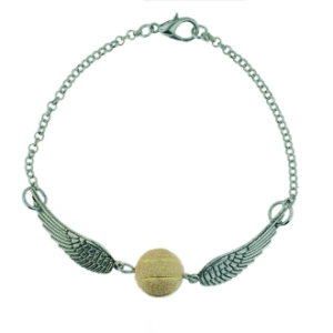 golden snitch bracelet