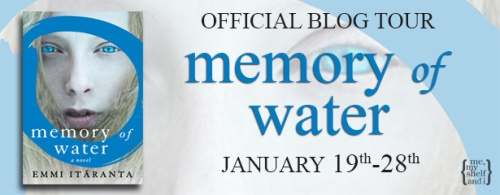 memory of water blog tour banner