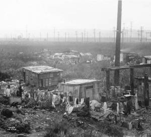 hooverville shacks