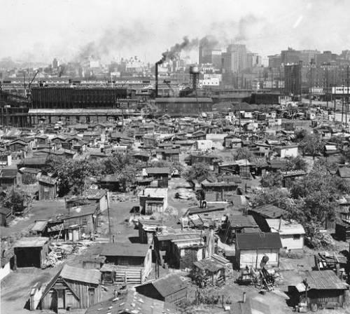 Seattle Hooverville circa 1937