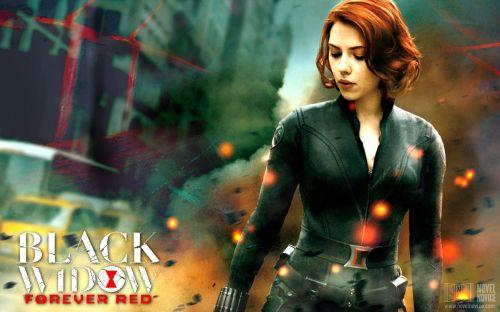 Black Widow Wallpaper2
